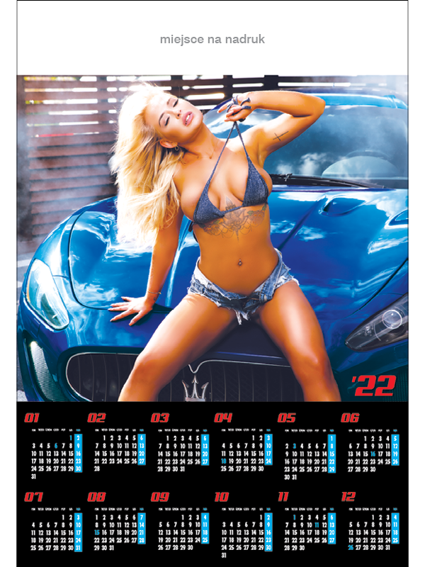 Kalendarze planszowe B1