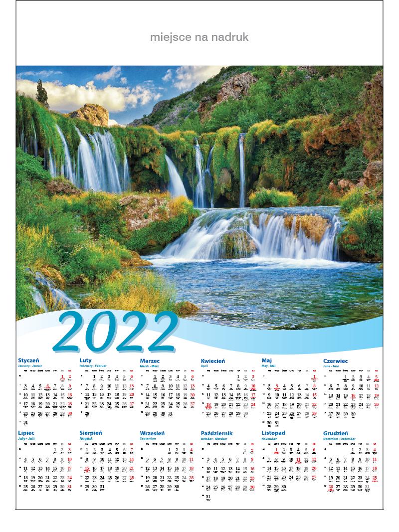 Kalendarze planszowe A1